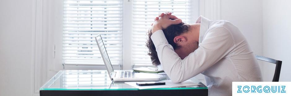 In hoeveel procent van ziektegevallen is stress direct te relateren?